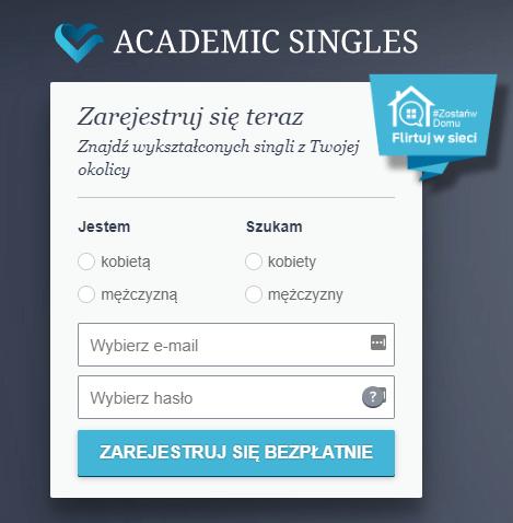 academic singles rejestracja logowanie