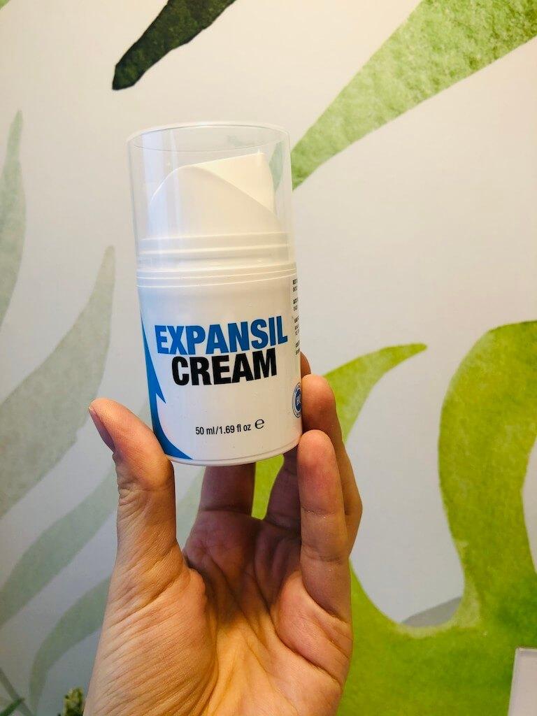 expansil cream działanie efekty