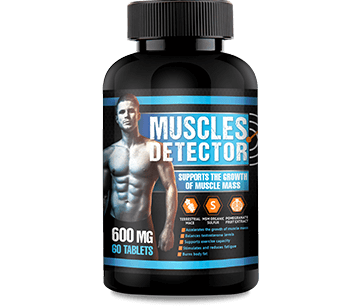 muscle detector cena