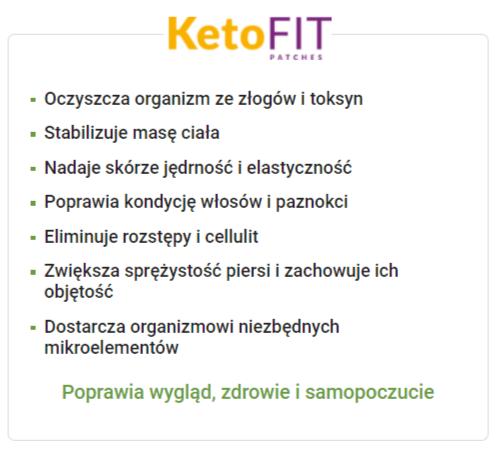 KetoFit Plastry - Opinie, Forum, Cena, Składniki, Efekty, Gdzie Kupić, Allegro