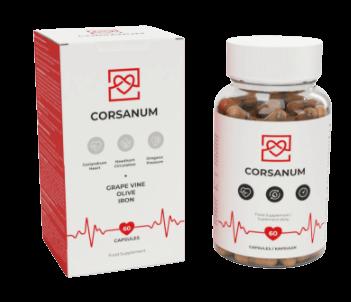corsanum kapsułki na serce